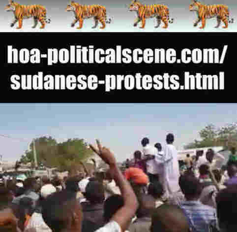 hoa-politicalscene.com/sudanese-protests.html: Sudanese Protests: يوميات الإنتفاضة السودانية في يناير 2019م. Diary of the Sudanese Intifada in January 2019.