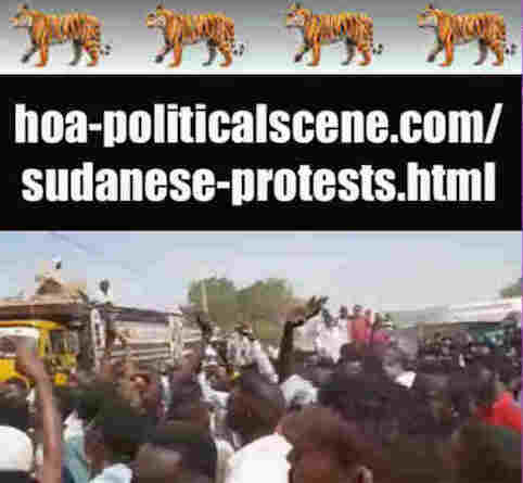 hoa-politicalscene.com/sudanese-protests.html: Sudanese Protests: يوميات الثورة السودانية في يناير 2019م. Diary of the Sudanese uprising in January 2019.