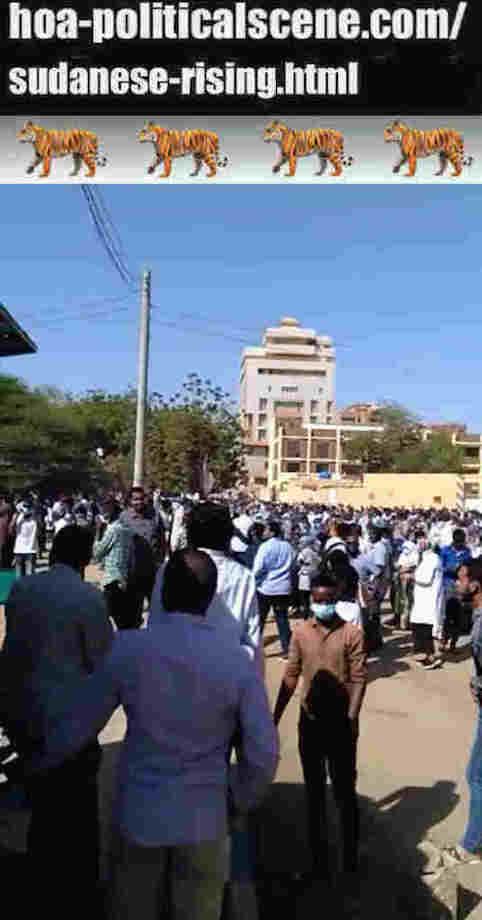 hoa-politicalscene.com/sudanese-rising.html: Sudanese Rising: يوميات الإنتفاضة السودانية في يناير 2019م. Diary of the Sudanese Intifada in January 2019.