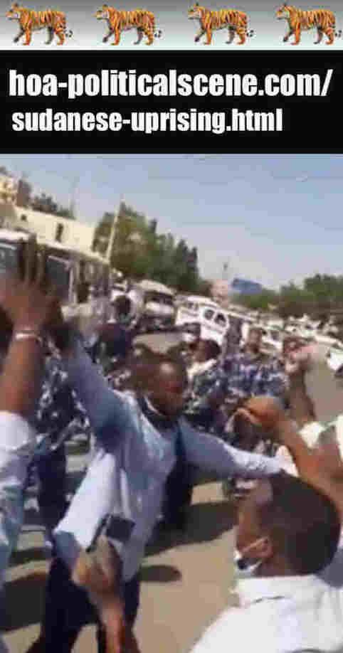 hoa-politicalscene.com/sudanese-uprising.html: Sudanese Uprising: يوميات الثورة السودانية في يناير 2019م. Diary of the Sudanese revolution in January 2019.