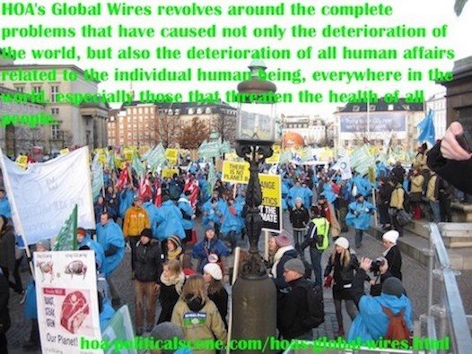 hoa-politicalscene.com/hoas-global-wires.html - HOA's Global Wires: HOA's Global Wires revolves around the complete problems that have caused world and human deterioration.