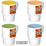 HOAs Journalists' Stackable Mug Set (4 mugs)