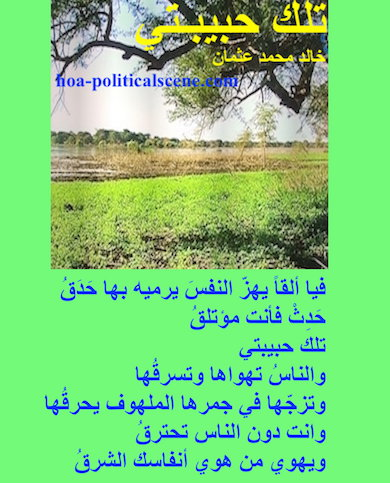 oa-politicalscene.com - HOAs Poetry Scripture: Snippet of poetry from