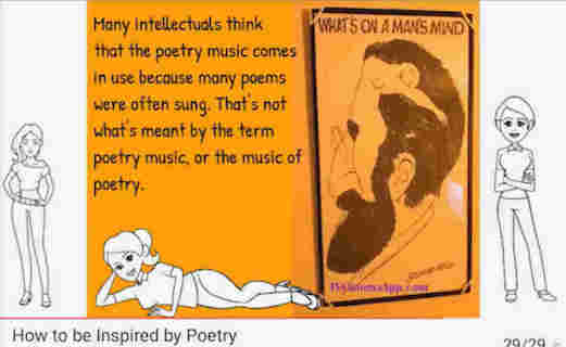 hoa-politicalscene.com/how-to-write-verse.html - How to Write Verse? Video Lessons to Write Verse! by veteran activist, journalist and poet Khalid Mohammed Osman.