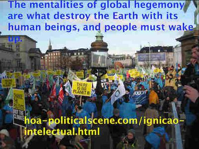 hoa-politicalscene.com/ignicao-intelectual.html: Ignição intelectual: The mentalities of global hegemony are what destroy the Earth with its human being, and people must wake up.