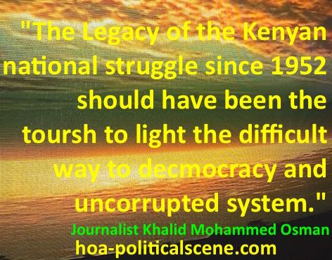 hoa-politicalscene.com - Kenya Country Profile: