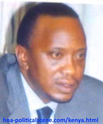 hoa-politicalscene.com - Kenya: Uhuru Kenyatta, the fourth president of Kenya, a picture from the archives.