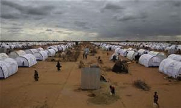 DAFI: One of the Somali Refugees Dadaab Camps in Northern Kenya Across the Border to Somalia.