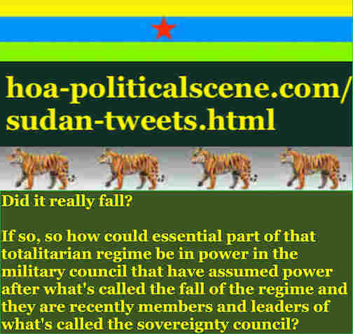 hoa-politicalscene.com/sudan-tweetss.html: Sudan Tweets: A political quote by Sudanese columnist journalist and political analyst Khalid Mohammed Osman in English 780.