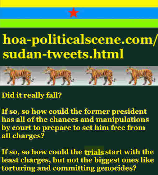 hoa-politicalscene.com/sudan-tweetss.html: Sudan Tweets: A political quote by Sudanese columnist journalist and political analyst Khalid Mohammed Osman in English 783.