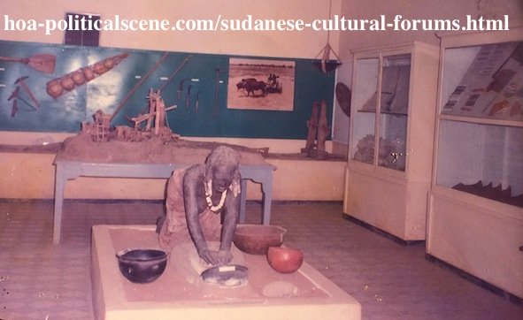 Sudanese Cultural Forums: Sudanese Arts, Culture and Customs in the Sudanese Museum.