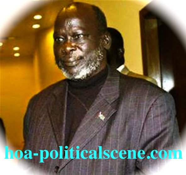 Comprehensive Peace Agreement in Sudan: The Sudanese John Garang, former SPLA/SPLM leader.