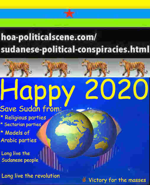 hoa-politicalscene.com/sudanese-nile-tweets.html: Sudanese Nile Tweets: on New Year 2020 by Sudanese columnist journalist and political analyst Khalid Mohammed Osman in English 809.