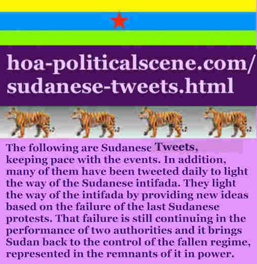 hoa-politicalscene.com/sudanese-tweets.html: Sudanese Tweets: A political quote by Sudanese columnist journalist and political analyst Khalid Mohammed Osman in English 758.
