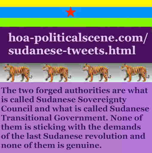 hoa-politicalscene.com/sudanese-tweets.html: Sudanese Tweets: A political quote by Sudanese columnist journalist and political analyst Khalid Mohammed Osman in English 759.