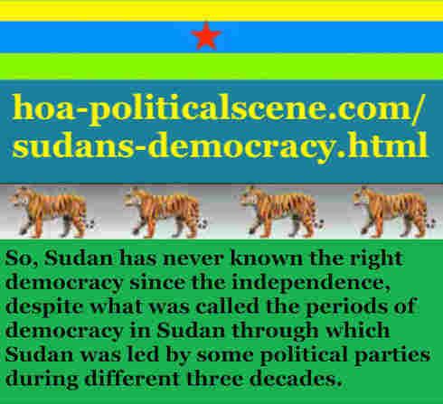 hoa-politicalscene.com/sudans-democracy.html - Sudans Democracy: A political quote by Sudanese columnist journalist and political analyst Khalid Mohammed Osman in English 3.