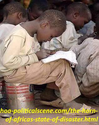 hoa-politicalscene.com/the-horn-of-africas-state-of-disaster.html - The Horn of Africa's State of Disaster: Education in hard conditions of conflicts makes a dilemma.