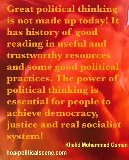 hoa-politicalscene.com - Political Section: The power of political thinking isn't made Up today. It has history of good reading in useful trustworthy resources and some good political practices.