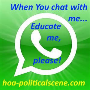 WhatsApp Cultural Chat by inventor of WhatsApp cultural chat and pioneer journalist Khalid Mohammed Osman.